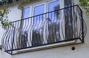 metal juliette balcony