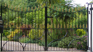 estate gates in West Sussex