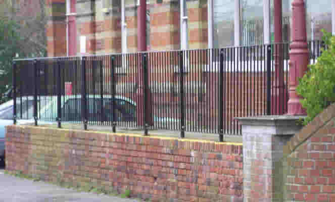 wrought iron railings kent to building regulations