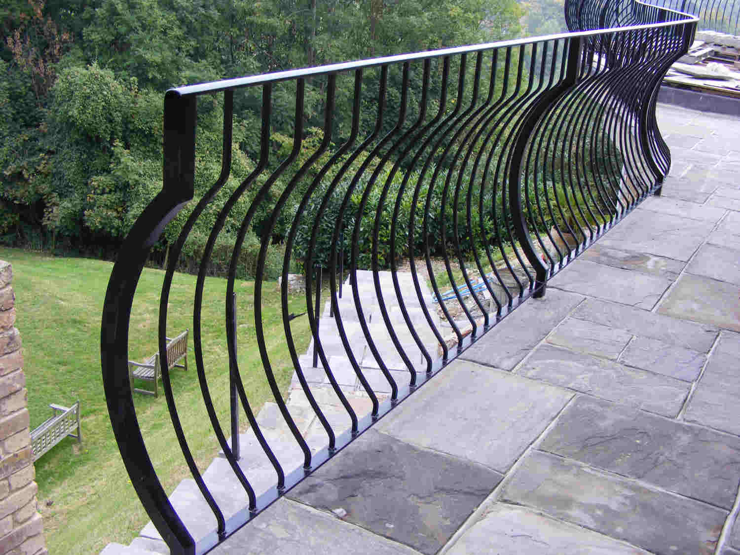 wrought iron railings in woldingham